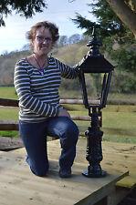 "Cast Iron 45"" Pillar Top / Bollard Lamp Post Victorian style (E12)"