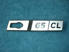Emblem / Badge Kotflügel rechts Front Wing Fiat Ritmo 65 CL Plastik 1. Serie