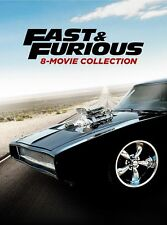 Fast & and Furious 1-8 Complete 8 MOVIE Collection DVD BOX Set NEW 9 Discs 1-7