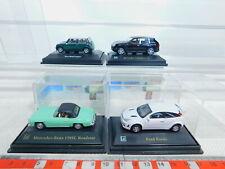 By365-0, 5 #4x Hongwell 1:72 Car: Ford Focus + Porsche + MB + Mini Cooper, Nip