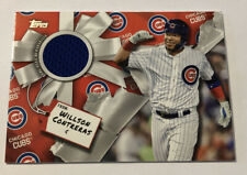 2019 Topps Holiday Willson Contreras Relic Chicago Cubs