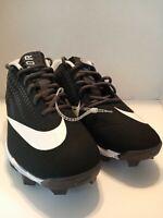 Nike Mens Vapor Ultrafly 2 Keystone AO7945-010 Black Baseball Cleats Mens Sz 8.5