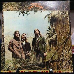 AMERICA Hat Trick Album Released 1973 Vinyl/Record Collection US pressed