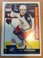 O-Pee-Chee 2016-2017 ZACH WERENSKI MARQUEE ROOKIE HOCKEY CARD #678