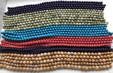 """30 X 16"""" Strands Of Jade And Turquoise Beads-8mm, 10mm 12mm Lot #1"""