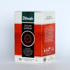 Dilmah Ceylon Supreme Tea - Ceylon Tea in 50 Tea Bags