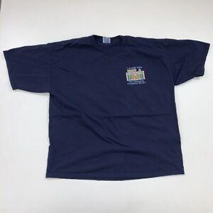Vintage UCLA Bruins T-Shirt Size 2XL Blue NCAA 90s