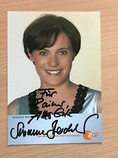 Autogrammkarte - SUSANNE BERCKHEMER - SCHAUSPIELERIN - orig. signiert #448