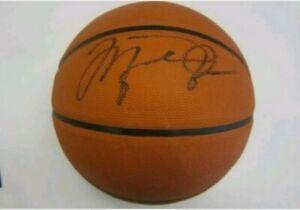michael jordan signed autographed basketball COA