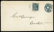1887, Dänemark, U 5 II b, Brief - 1675359