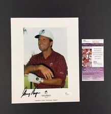 Gary Players Golfer Autographed Photo Promo Signed Picture Jsa Coa Palm Beach