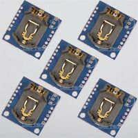 5Pcs RTC I2C DS1307 AT24C32 Real Time Clock Module For Arduino AVR 51 ARM PIC