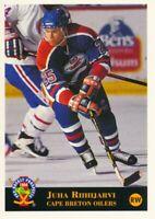 1994 Classic Pro Prospects #48 JUHA RIIHIJARVI - Cape Breton Oilers