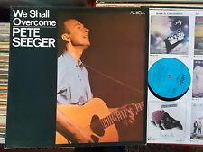 Pete seeger rda Amiga LP: we shall overcome (1978, 845038)