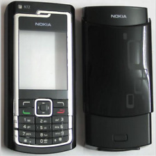 Black Housing skin Cover Case Fascia Faceplate facia for Nokia N72 black