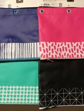 Binder Pouch 10x7.75� Target Up&Up Lot Of 12 Mixed Navy-Teal-Pink-Black Pouches