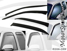 4pcs Outside Mount JDM 2.0 mm Visor Rain Guard Ford F150 Super Crew 2001-2003