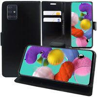 "Étui Coque Housse Portefeuille En Cuir Samsung Galaxy A51 6.5"" SM-A515F, A515FN"