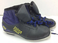 Thinsulate Cirrus Black and Blue Winter Ski Shoes Size 7.5