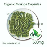 Fresh Ceylon Organic Moringa Green Superfood Supplement - 500mg x 100 Capsules
