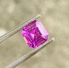 1.21 Hot pink sapphire, Natural no heat sapphire, Ceylon sapphire