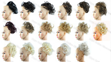 Hair Extensions Scrunchie X-Large Messy Bun Hair Piece Updo Wrap on Ponytail