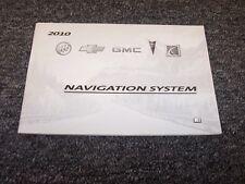 2010 Saturn Outlook & Vue Navigation System Owner Operator User Guide Manual