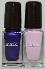 Avon mark Nailed It Trend Mini Nail Lacquers Violet Daze and Tickled Pink (2)pcs