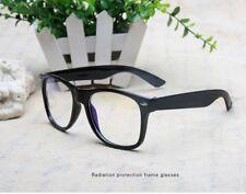 BLACK CAT EYE Frames CLEAR LENS Glasses Geek Nerd Vintage Retro Style #1167