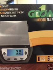 Grow1 Gro1 Digital Nutrient Scale 11lbs/5Kg MAX Weight SAVE $$ W/ BAY HYDRO