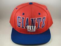 NFL New York Giants Reebok Snapback Hat Cap Red Blue