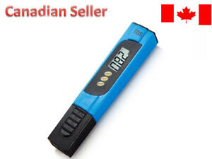 Pro TDS Meter Digital Water Tester - 3 in 1 ppm EC and Temperature Test Pen BLUE