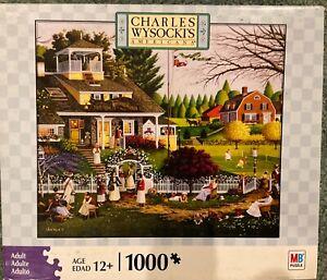 Charles Wysocki's Americana Jigsaw Puzzle - Love