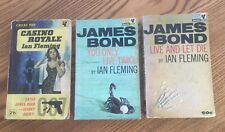 Bundle Fleming James Bond books. Casino Royale You Only Live Twice Live & Die