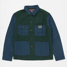 Supreme FW19 Ben Davis Chore Coat Box Logo Jacket -navy