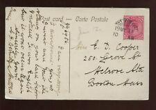 India Picture Postcard (Victoria Terminus & Municipal Hall, Bombay) 1911 Muttra