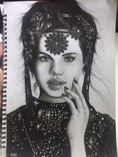 Portrait Of Selena Gomez