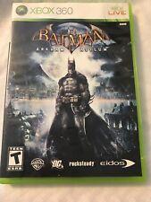 Batman: Arkham Asylum (Microsoft Xbox 360, 2009)complete and tested.