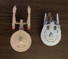 Micro Machines Star Trek USS Reliant NCC1864 and USS Enterprise NCC1701 Galoob