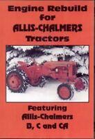 Allis Chalmers B C CA Engine Rebuild