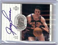 Jerry Lucas 2000 UD Century Legends Legendary Signatures Auto Knicks #JL