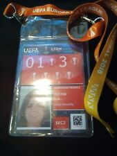 Security Pass Keyholder UEFA EL Finale 2018 Olympique Marseille Atletico Madrid