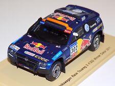 1/43 Spark Volkswagen Race Touareg Car #302 winner of 2011 Dakar S0823
