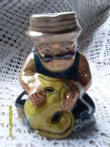 Roy Kirkham Pottery Toby Jug 'Tailor'