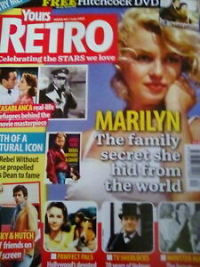 YOURS RETRO MAGAZINE ISSUE 40 JULY 21 STARSKY & HUTCH MARILYN MONROE/JAMES DEAN