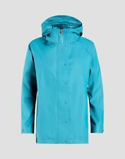 Save The Duck Women's Hooded Trench Rain Coat Jacket S4429W Blue 2 Medium M NEW