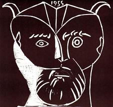 PABLO PICASSO 1964 SIGNED LITHOGRAPH w/COA. UNIQUE GIFT PRESENT of VERY RARE ART