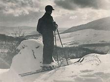 HONGRIE c. 1940 - Skieur Les Collines de Buda - DIV 8110