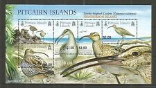 PITCAIRN ISLES 2005 BRISTLE-THIGHED CURLEW M/SHEET SG,MS699 UM/M NH LOT 63L
