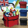 UK Seller Big Picnic Lunch Storage Bag Travel Thermal Insulated Cool Bag Tote UK